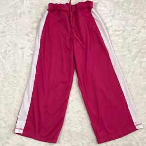 Danskin now pink and white activewear size M